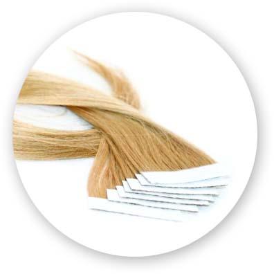 Extensiones de pelo nayutal Adhesivas