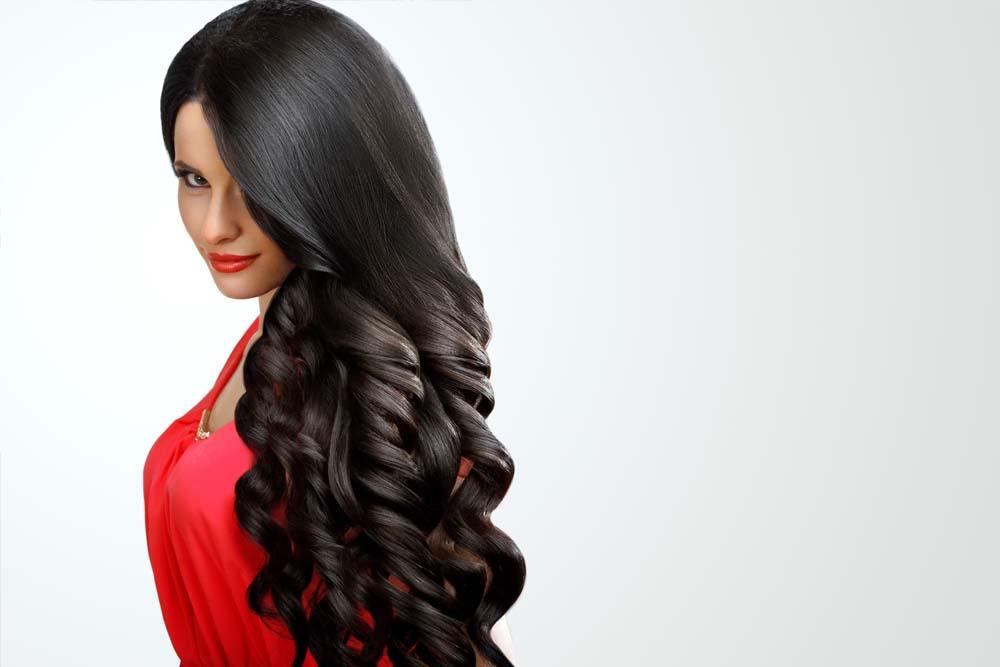 colocación profesional de extensiones de pelo natural valencia